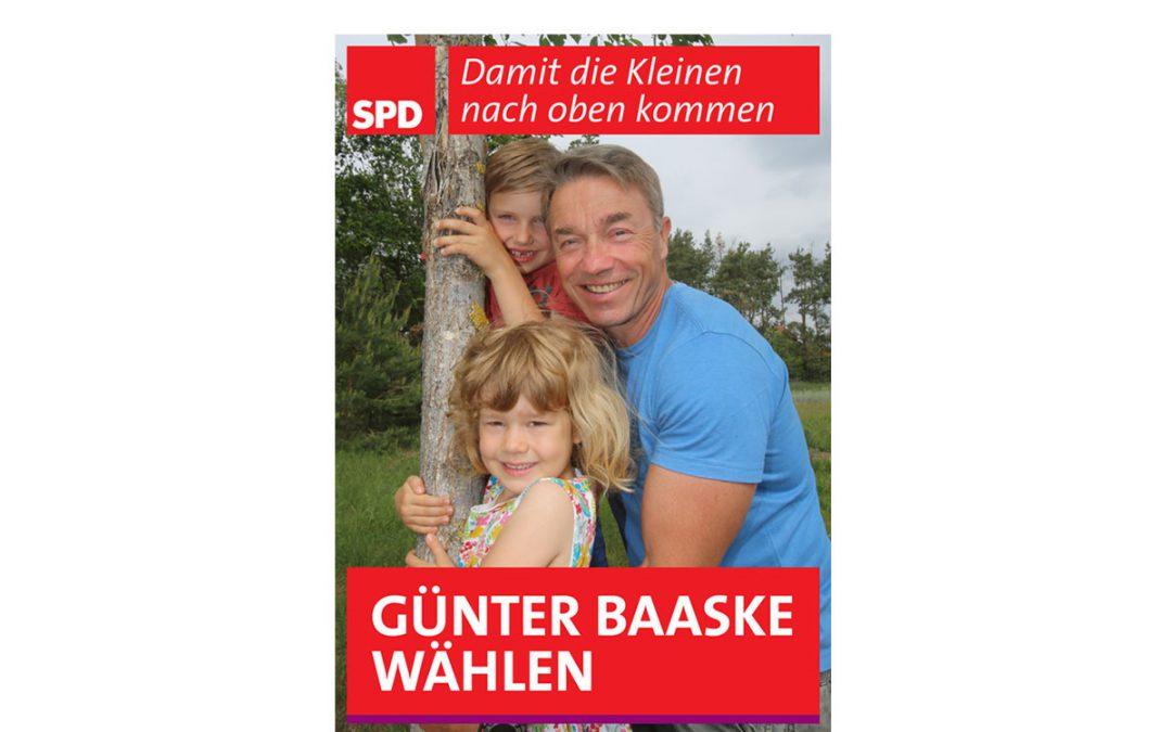 Unser Kandidat für den Landtag: Günter Baaske