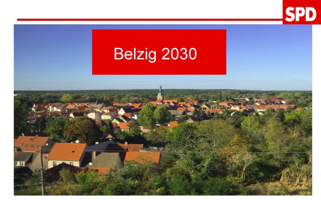Nachdenken über die Zukunft Bad Belzigs