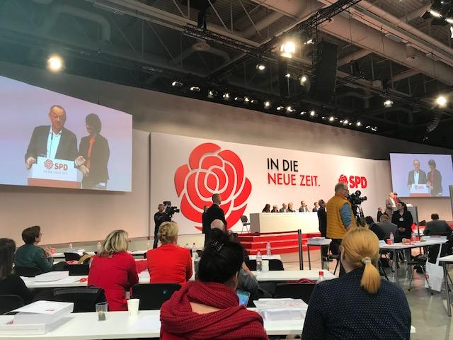 SPD Bundesparteitag: Auf zu neuen Ufern