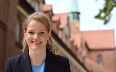 Von sozialer Gerechtigkeit bis zum Kompott der Oma: Sonja Eichwede stellt sich vor