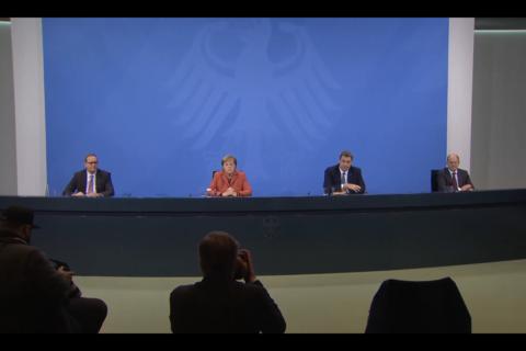 Bund und Länder beschließen harten Lockdown