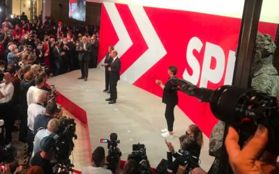 Die SPD ist wieder da