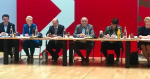 SPD Bundesvorstand am 27.09.2021